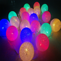 Hot Sale 5M 20led LED Ball Christmas Tree Lighting Decoration 220V With Tail Plug Wedding Garden