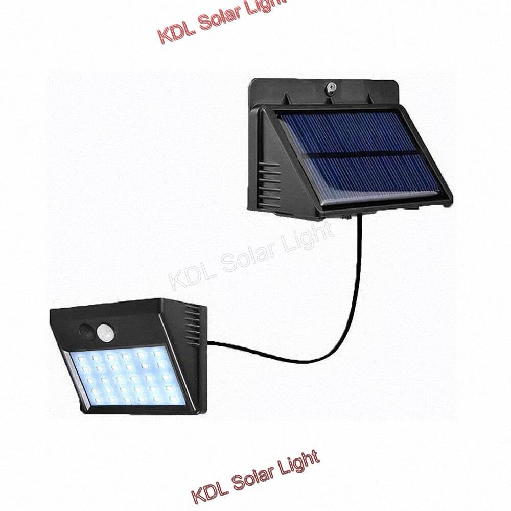 48 Led 800lm Solar Split Garden Light Outdoor 3 Modes Pir Motion Sensor Solar Led Separable Lamp Waterproof Wireless Wall Lamp Lights & Lighting