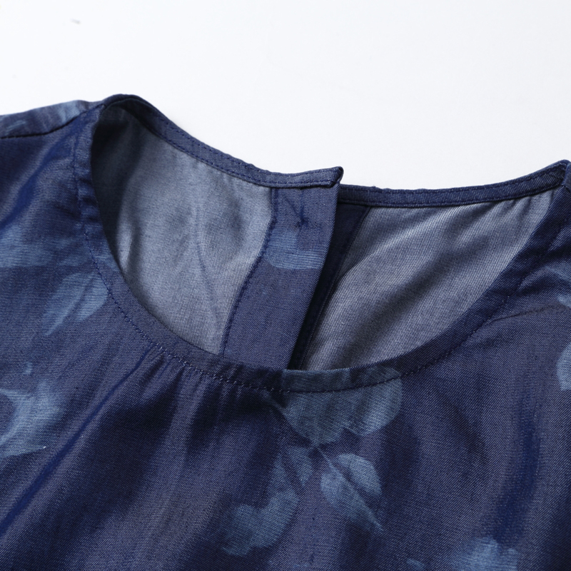 Mode Floral Deux Royal Rayonne Printemps Design Hauts 2019 Pièces Chemise De Femmes Qualité Ensemble Pantalon Haute 2 Bleu Vêtements Imprimée TAwSR5xqq