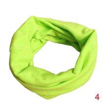 Весенние Шарфы Осень-Зима для детей ясельного возраста очень милая детская нагрудный шарф для девочек и мальчиков O хомут для шеи крышка одежда аксессуары