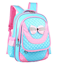 RUIPAI Children pack girl Wave Shoulder Bag Cute Princess Primary School Students Backpack Ultra-light Durable Waterproof Bag