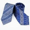 2017 homens da Moda Estilo Porcelana Chinesa Laço de Pescoço 100% Seda Gravatas Para Homens Presente Do Negócio Terno Acessórios
