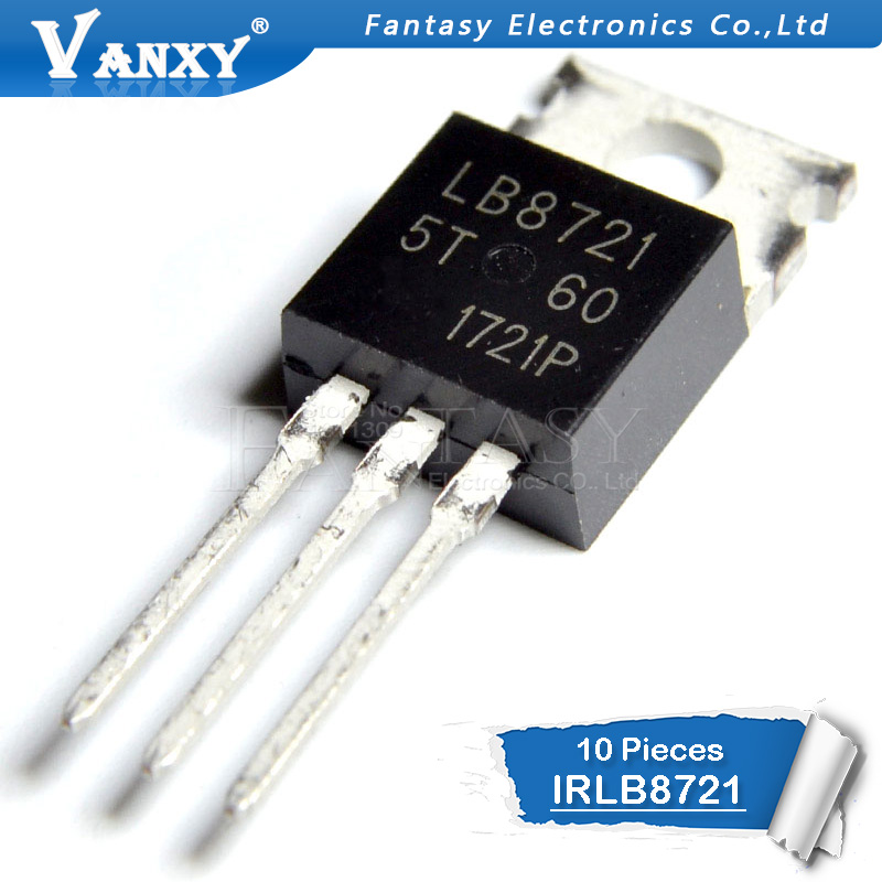 10PCS IRLB8721 TO220 IRLB8721PBF TO-22010PCS IRLB8721 TO220 IRLB8721PBF TO-220
