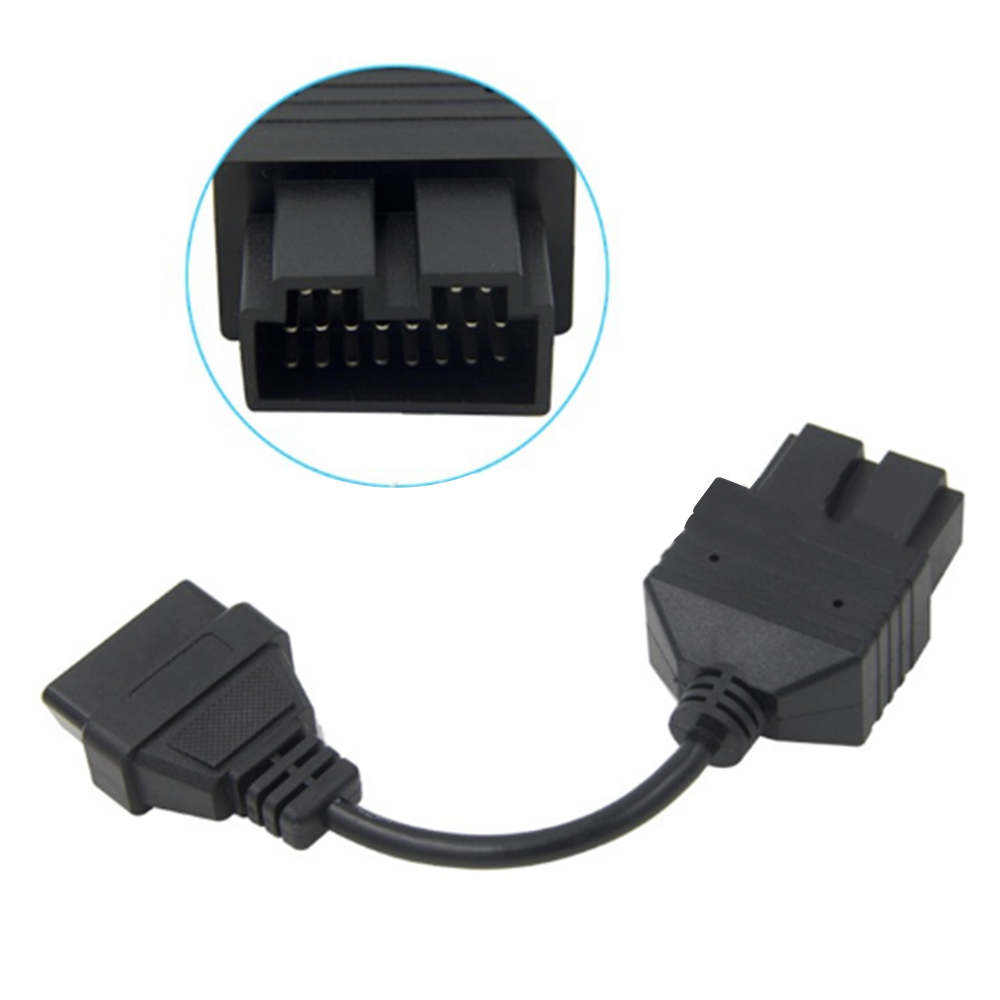 OBD 2 Cable for KIA 20 Pin To 16 Pin OBD2 OBD Diagnostic Tool Scanner Code Reader Adapter Car Connector Cable for KIA 20Pin