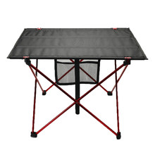 Portable Outdoor Foldable Table Camping Picnic Table Waterproof Ultra-light Durable Folding Table Aluminium Alloy Ultra-light(China)