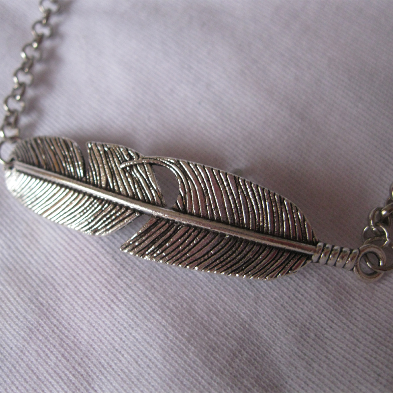 silvercartel minimal on bracelet by silver pin style sterling anklet feather etsy ankle