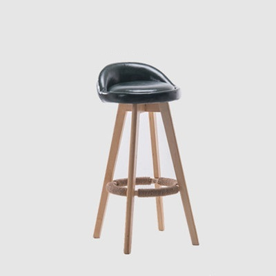 cafe house chair dark green color restaurant hotel bar stool free shipping chair stool design costomization