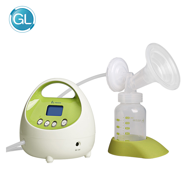 Mother Care Breastmilk Feeding Portable Electric Breast Pump BPA Free Single Milk LCD Display Baby Suction