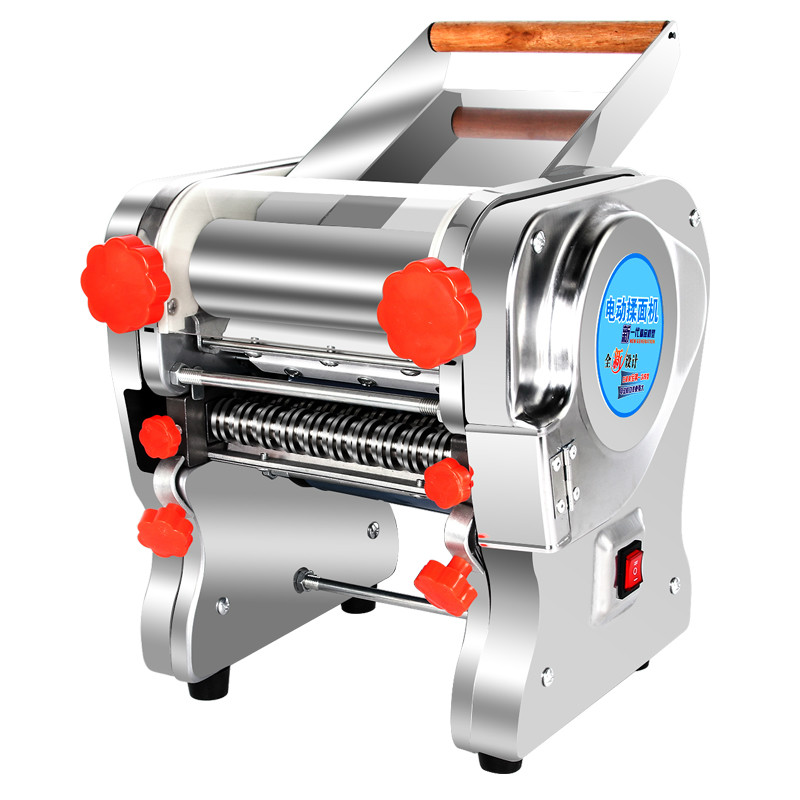 noodle machine is a small multi functional stainless steel commercial with electric automatic rolling dough dumpl