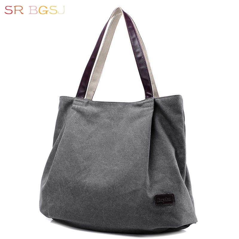 Beautiful Shoulder Bag Tote Canvas Hobo Bag Working Day Pack Shopping Bag