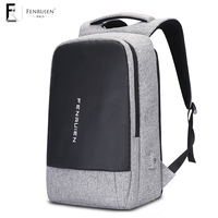Fenruien Student Backpack 15 6 Inch Anti Theft Usb Charging Laptop Backpack Unisex Large Capacity Men