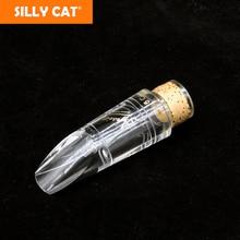 купить Germany AFIST Transparent Bb Clarinet Mouthpiece Bakelite Mouthpiece Jazz pop Classical style Professional недорого