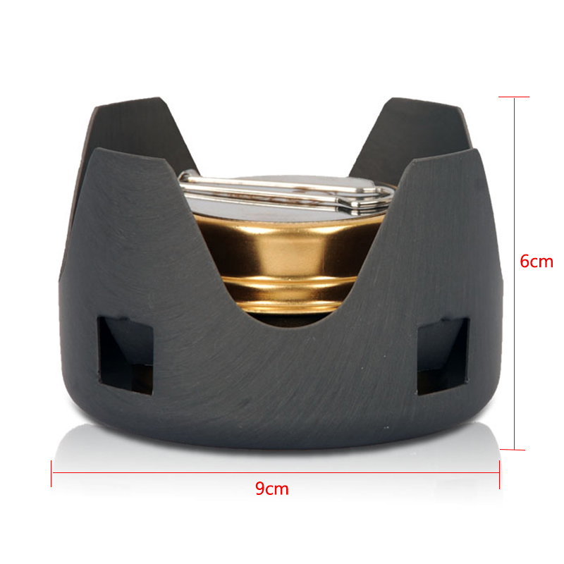 Outdoor Picnic Stove Mini Ultra-light Spirit Combustor Alcohol Stove Outdoor Camping Furnace Camping Portable Folding