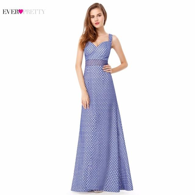[Распродажа] элегантные кружевные Длинные вечерние платья без рукавов Ever Pretty EP08961 милые сексуальные вечерние платья с v-образным вырезом сзади