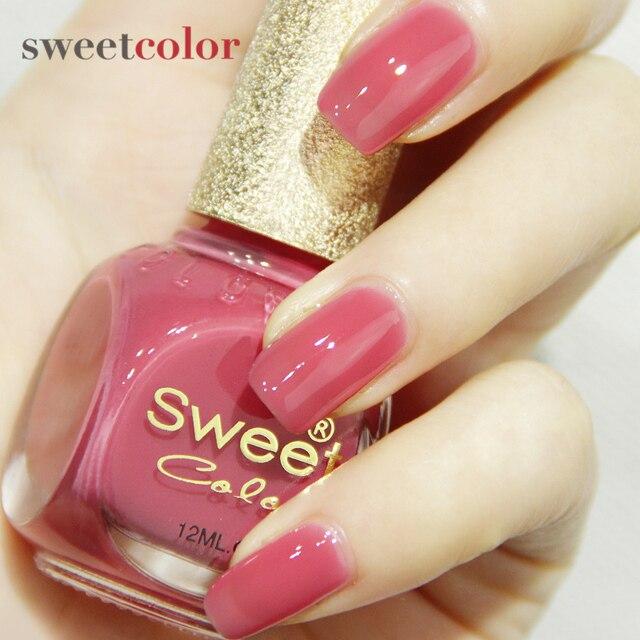 Sweet Color Nail Polish Red Rose Mandala Great White Candy Environmentally Significant Non Toxic 12ml