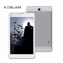 Koslam новый 7 дюймов Android планшеты ПК Pad 1280×800 IPS Экран Quad Core 1 ГБ Оперативная память 8 ГБ Встроенная память Dual SIM карты 7 «3 г мобильного телефона Phablet