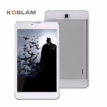 "KOSLAM Nueva 7 Pulgadas Android Tablets PC Pad 1280×800 IPS Screen Quad Core 1 GB RAM 8 GB ROM Tarjeta Dual SIM 7 ""3G Teléfono Móvil Phablet"