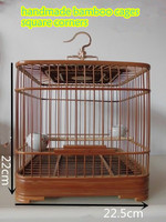 (FREE SHIPPING)HANDMADE pet cage, bird cage, natural bamboo cage, handmade cage,
