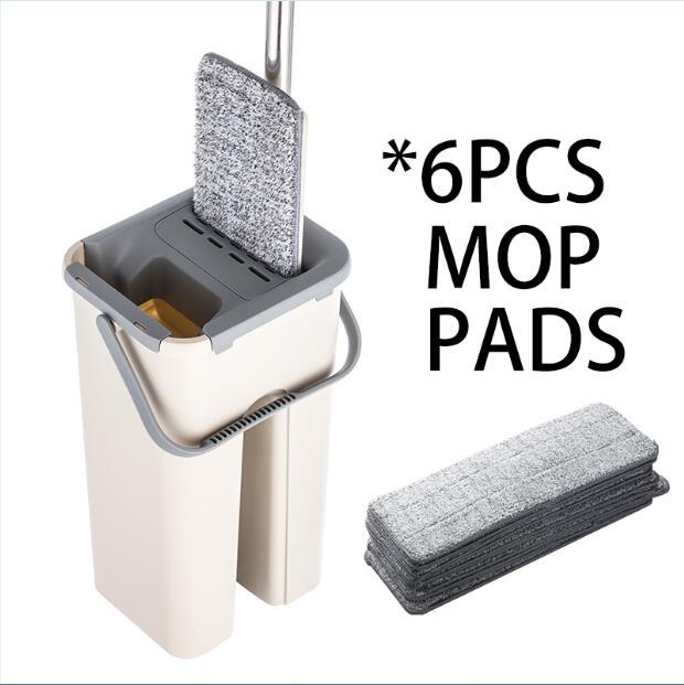 6pcs mop cloth