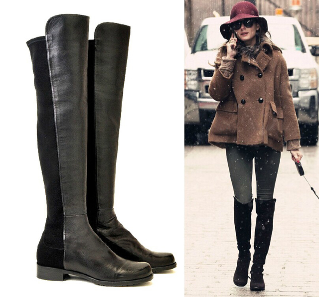 2014 Fashion elastic boots classic 5050 over-the-knee all-match women's knee