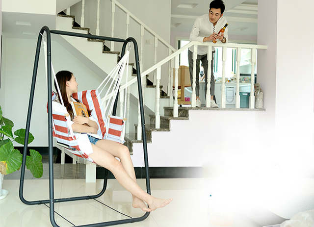 High Quality Home Portable Student Dormitory Swing Chair Basket Balcony Outdoor Indoor Hammock With
