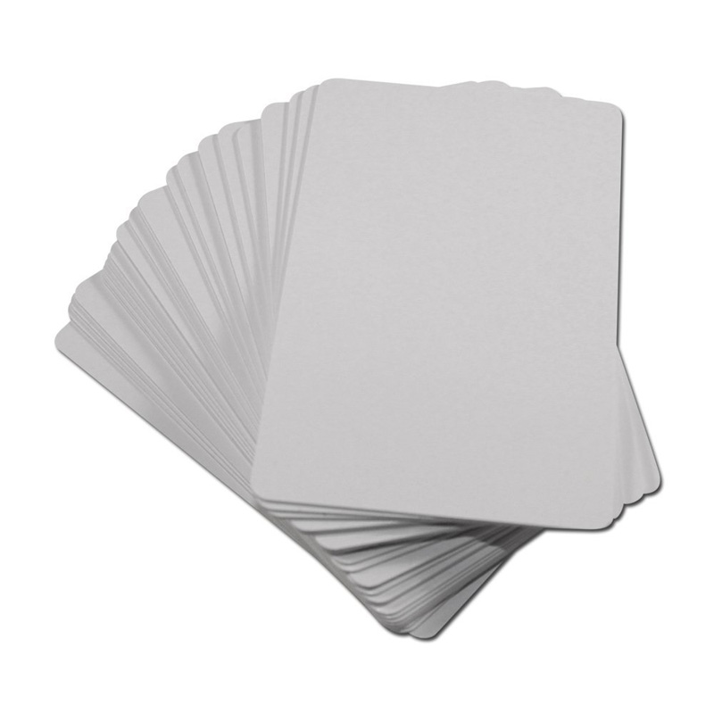100pcs/lot Printable Glossy Inkjet Blank PVC Card for Epson T50 P50 A50 L800 R290 R230 R260 230pcs lot inkjet printable blank pvc card for epson printer canon printer credit card size
