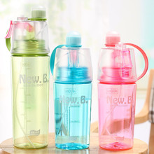Get more info on the 600ml Sport Cycling Mist Spray Water Gym Beach Bottle Leak-proof Drinking Portable Cool Creative Spray Water Bottle DM102