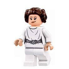 Single Sale Super Heroes Star Wars Figure Princess Leia Baze Sith Lord Bricks Models Building font