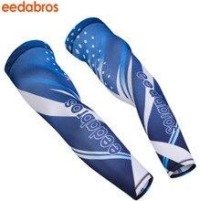 EEDA Cycling Running Volleyball Uv Sun Protection Protective Arm Sleeve Bike Sport Arm Warmers Cover Football Basketball Sleeves