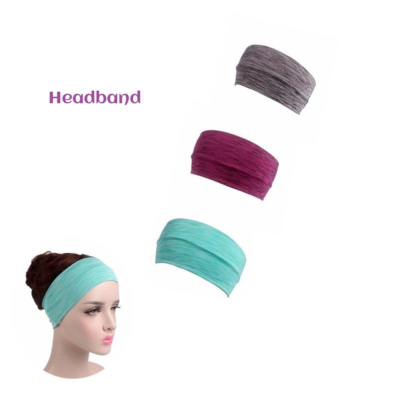 Headband Women Fitness Yoga Sports Band Gym Elastic Sport Hairbands Head Band