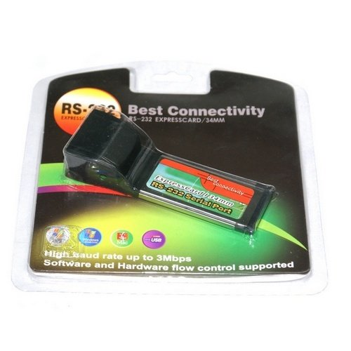 BEST CONNECTIVITY EXPRESSCARD RS232 DRIVER DOWNLOAD