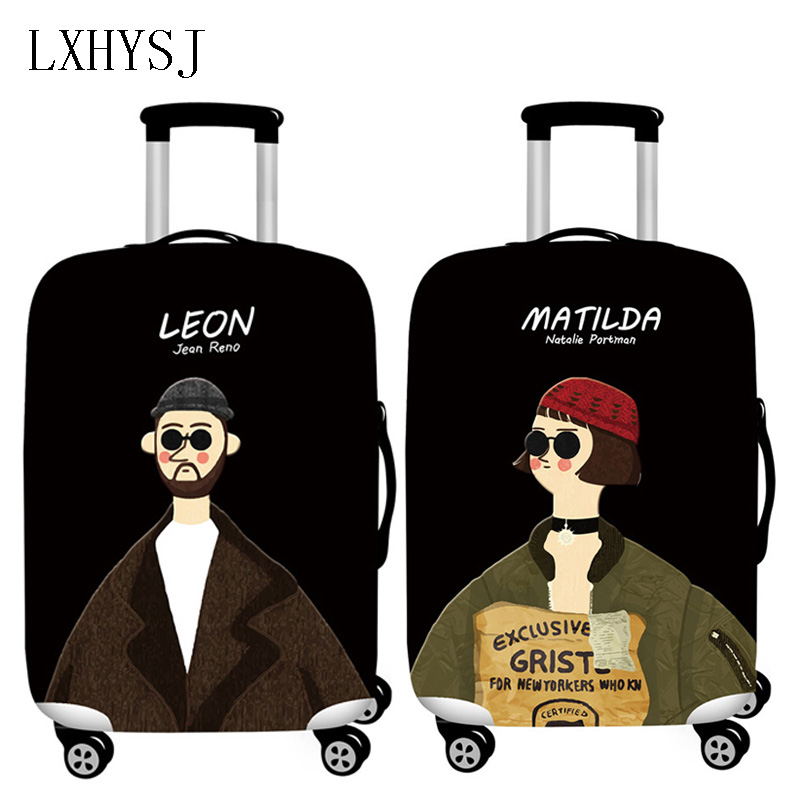 LXHYSJ Luggage Cover Elastic Luggage Protective Covers Baggage  Cover Suitable For18-32 Inch Suitcase Case Travel Accessories