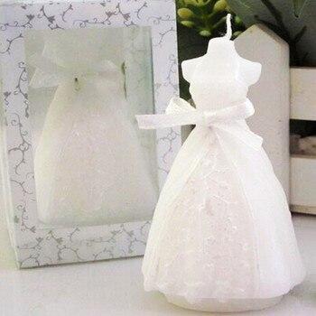 Bougie Nuptiale Robe De Mariée