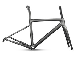 2019 SL6 ODM marka Logo karbon fiber yol bisikleti bisiklet şasisi 44,49, 52,54, 56,58 cm EMS XDB DPD hızlı express ücretsiz vergi