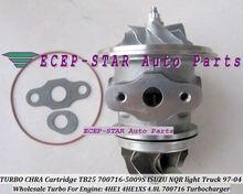 TURBO CHRA Cartridge Core GT25 TB2560S 700716-5009S 700716 Turbocharger For ISUZU NKR NPR NQR light Truck 97-04 4HE1 4HE1XS 4.8L