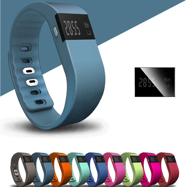 TW64 Smart band Fitness Tracker Bluetooth 4.0 Wristband Smart Pedometer Bracelet For iOS Samsung Android Mi band