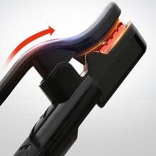 L30CM теплоизоляция хвостовик Чистая медь 800A сварочный зажим подставка для паяльника держатель электрода 800AMP