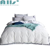 4pcs Bedding Set Queen And King Size 100% Cotton Duvet Cover Set Solid Color Bed Linen Fashion Home Textile Bed Sheet Set
