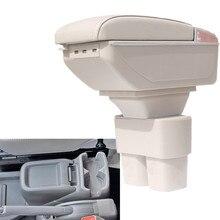 Автомобиля подлокотник для 2010-2017 Nissan NV200 Chevrolet City Express Evalia центр подлокотник PU кожаные центральной консоли коробка для хранения лоток