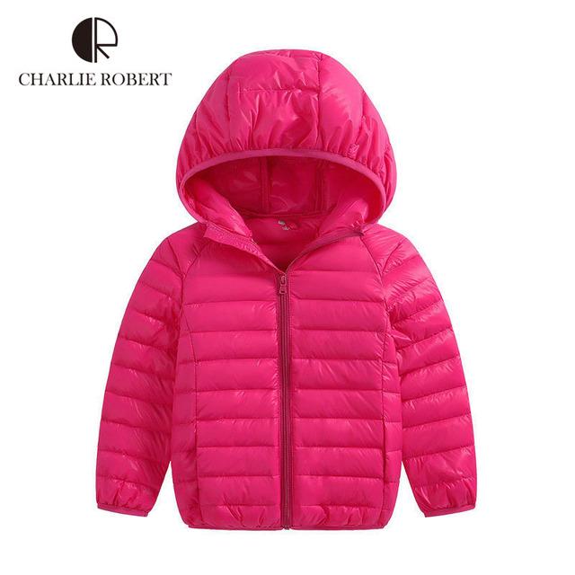 Kid Casaco de Inverno Meninos E Meninas Da Moda Sólida Casaco Quente Crianças roupas de Inverno Infantil Casaco Quente Design Para 6-14 Anos de Idade As Crianças