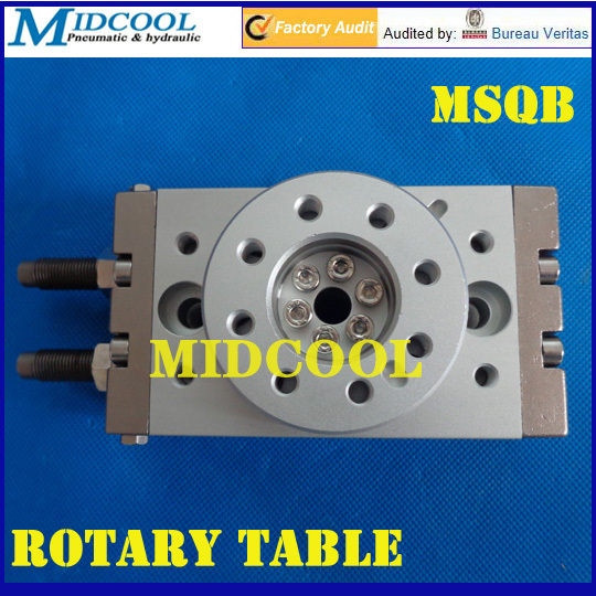 Msqb a air cylinder pneumatic rotating table rotary
