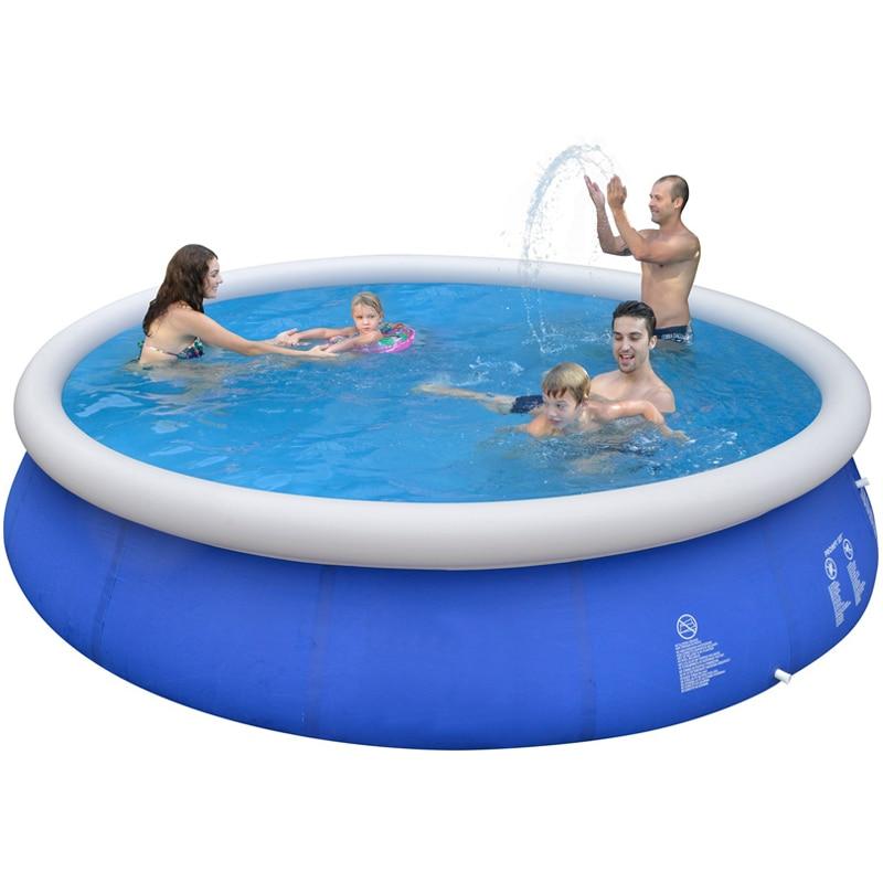 Swimmingpool im garten kinder  Sommer Aufblasbare Schwimmbad PVC Wasser Sport Baby Kinder Familie ...