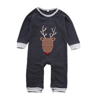 Newborn Toddler Infant Kids Romper Kids Baby Boy Girl Unisex Outfits Jumpsuit One Piece Casual Clothes Playsuit Outfits