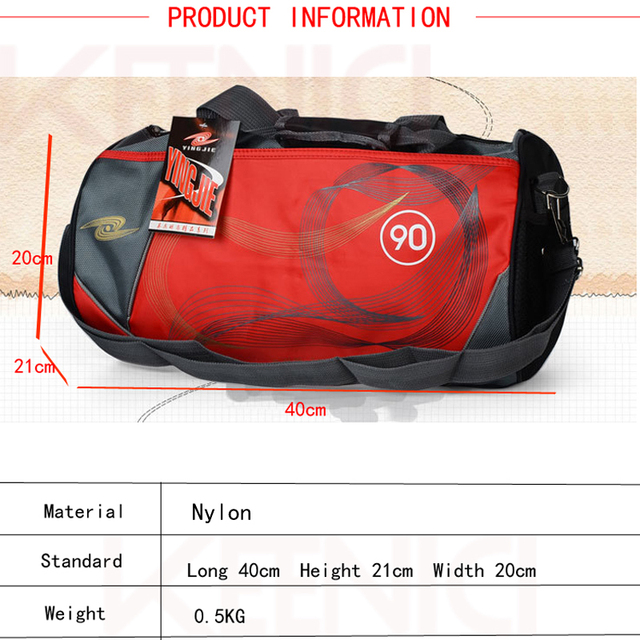Nylon Outdoor Male  Women Sport Gym Bag Waterproof Men Training gym Shoulder Bags Lady Fitness Handbag Crossbody Yoga Duffel Bag