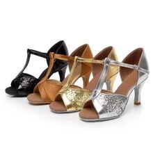Brand New Women's Tango Ballroom Salsa Latin Dance Shoes 5cm and 7cm Heel Sales Promotion
