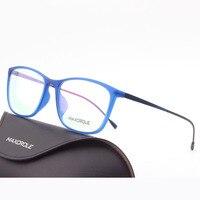 2017 гибкий тонкий рецепту выбрать очки глубоко старинные мужчины женщины девушки оптические пластиковые titanium инъекций очки кадр очки