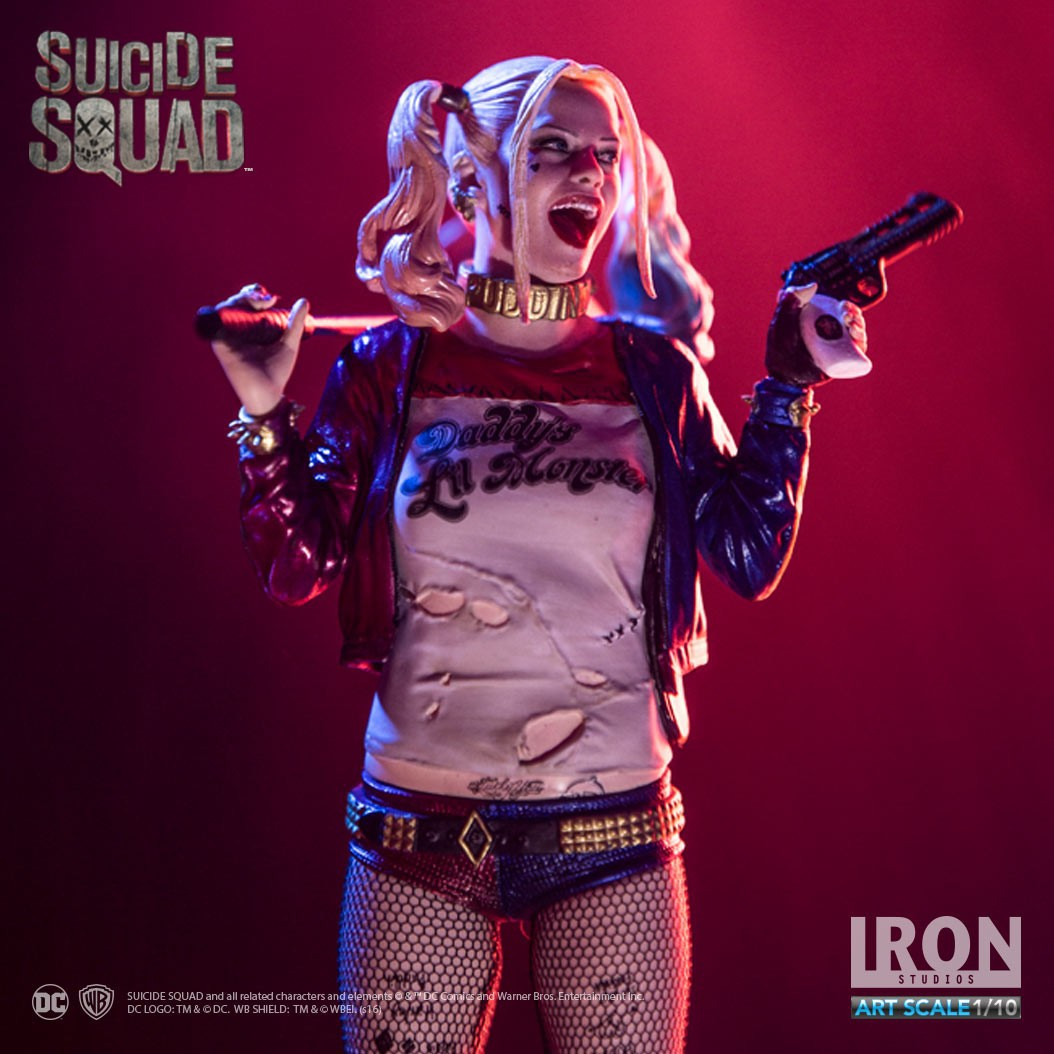 7.5 True Stockings Suicide Squad Harley Quinn Harleen Quinzel Collectors Action Figure Toys 19cm ynynoo crazy toys joker suicide squad x dutch act team harleen quinzel harley quinn batman deadshot pvc action figure model 30cm