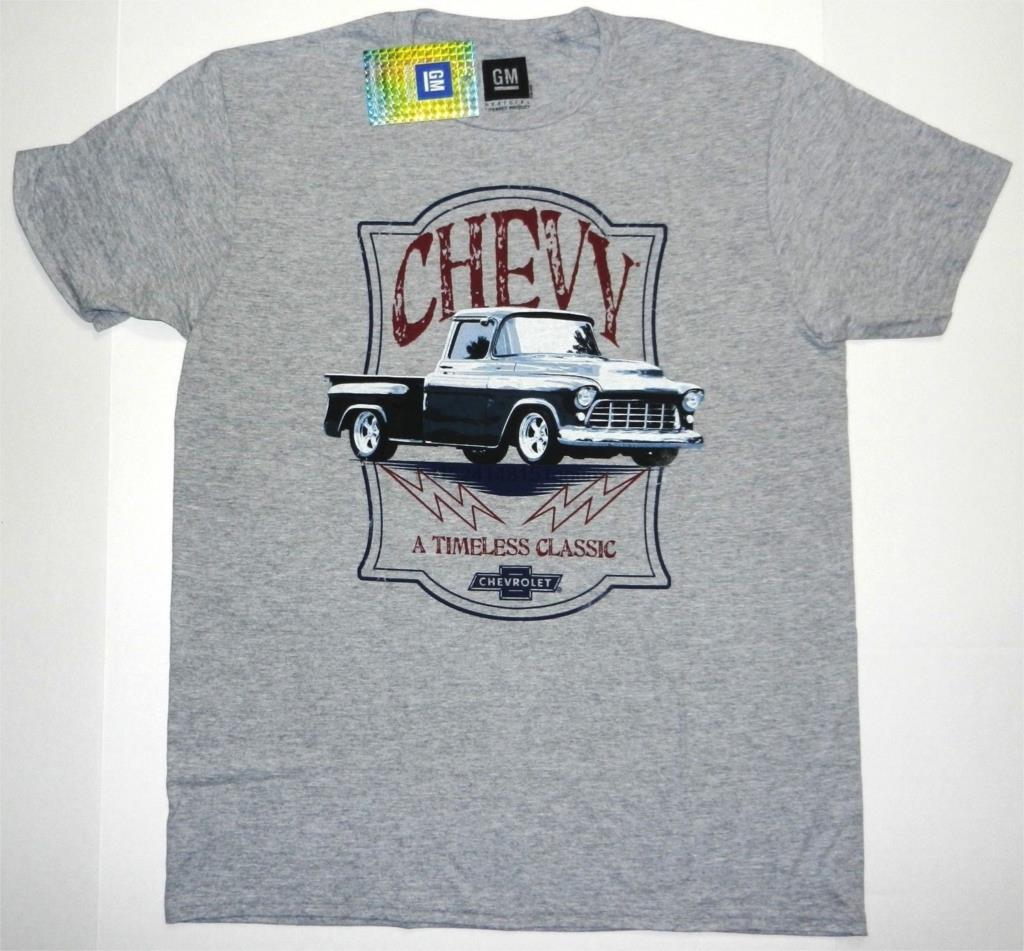 New GM Chevy Tee Timeless Classic Truck Chevrolet Men ...