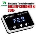 Auto Elektronische Drossel Controller Racing Gaspedal Potent Booster Für JEEP CHEROKEE KJ 2007-2019 Tuning Teile Zubehör