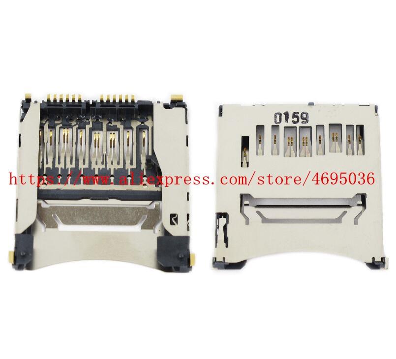 New SD Memory Card Slot Holder Repair Parts For Nikon D3300 D750 D810 SLR